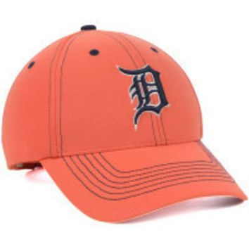 ESBON MLB 47 Brand Detroit Tigers 2015 Mens Game Time Closer hat-Orange