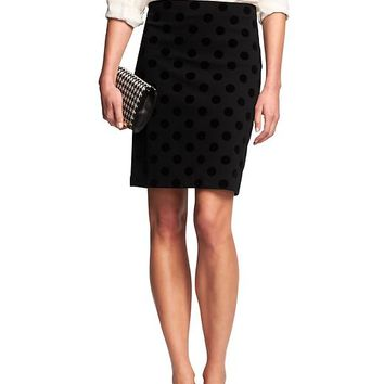 Banana Republic Womens Factory Ponte Dot Mini Skirt