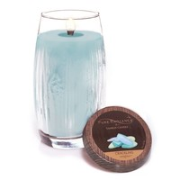 Seaglass™ : Large Crackling LumiWick™ Vase Candle : Yankee Candle