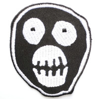 "Mask Mighty Boosh Iron On Sew On Embroidered Patch 2.4""/6cm"