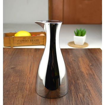 Stainless steel fashion 304 leak oiler oil bottle quality metal pot of vinegar bottle