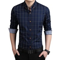 Fashion Slim Fit Button Up Shirt
