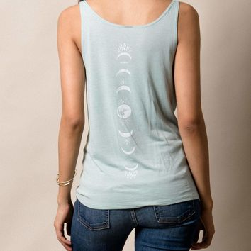 Moon Phase Slouchy Tank