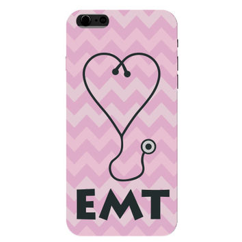 EMT Stethoscope Pink Emergency Medical Technician Phone Case