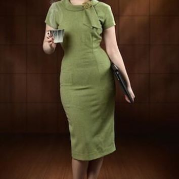Tiffany Mad Men Pencil Dress  - Custom Sizing