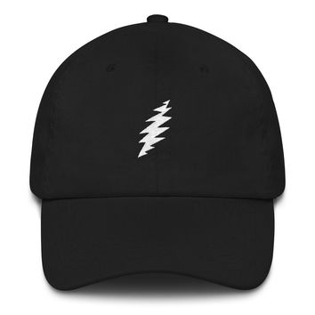 Greatful Dead Bolt Embroidered Cap hat