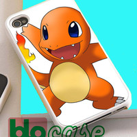 Pokemon Charmander Charizard Pikachu For Iphone 4/4s, iPhone 5/5s, iPhone 5C, iphone 6, and iPhone 6 Plus Case