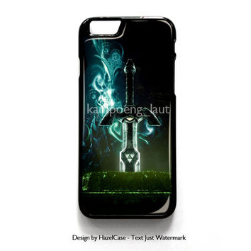 Master Sword for iPhone 4 4S 5 5S 5C 6 6 Plus , iPod Touch 4 5  , Samsung Galaxy S3 S4 S5 Note 3 Note 4 , and HTC One X M7 M8 Case Cover