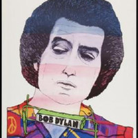 Bob Dylan Mini Poster #01 Japanese Art 11inx17in Mini Poster
