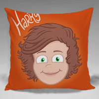 One Direction Harry Style - Square and Regtagular Pillow Case One Side/Two Side.