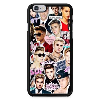 Justin Bieber Collage iPhone 6/6S Case