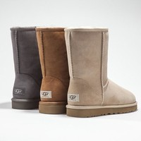 UGG Classic Boots Wool Fur Boots Half Boots Shoes-6