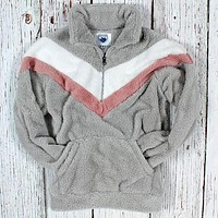 V-Panel Kangaroo Pullover by Nordic Fleece