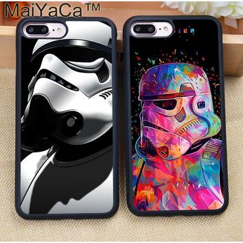 MaiYaCa SOLDIER STAR WARS Your Father Soft TPU Mobile Phone Cases Coque For iPhone 7 7 Plus 6 6S Plus 5 5S 5C SE 4S Cover Shell