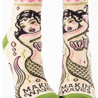 Makin' Waves Women's Ankle Socks