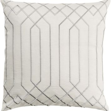 Skyline Throw Pillow Neutral, Gray