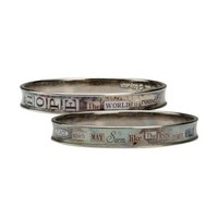 Sally Jean Hope the World Is Round Bangle Bracelet - Like Love Buy