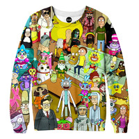 Rick and Morty Couch Sweatshirt