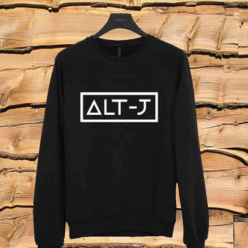 alt j sweater Sweatshirt Crewneck Men or Women Unisex Size