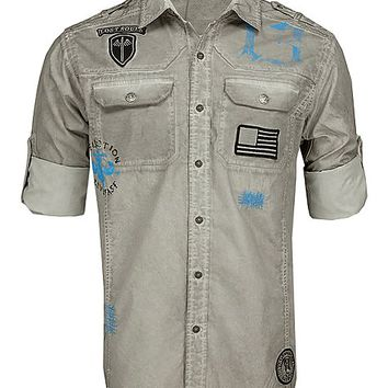 Affliction American Customs No Way Out Shirt