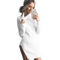 Alexa knitted sweater dress