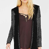 Ecote Boucle Hooded Cardigan-