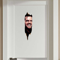 The Shining Here's Johnny Jack Nicholson Fathead-Style Repositionable Graphic Decal Sticker
