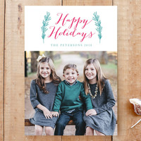 holiday and leaves Custom Stationery by aticnomar | Minted