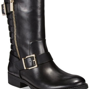 INC International Concepts Blayre Moto Booties, Only at Macy's