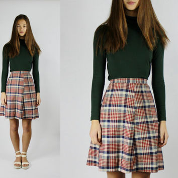 Best Plaid Skater Skirt Products on Wanelo
