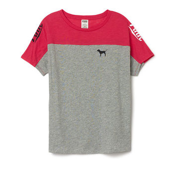 Boyfriend Crewneck Tee - PINK - from VS PINK | Quick Saves