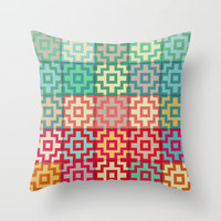 Marrakech Throw Pillow by Sharon Turner