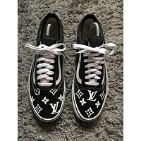 Louis Vuitton X Old Skool Vans Sport Shoes
