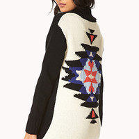 Borrowed-From-The-Boys Out West Cardigan