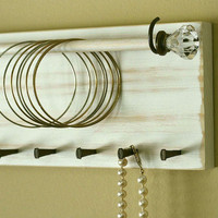 Jewelry Holder Organizer Bracelet Holder Rack Headband Wall Hanging Necklace Holder