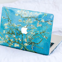 Van Gogh Almonds MacBook Decal Skin MacBook decal sticker MacBook Pro Retina Cover MacBook Air Acer Asus Dell HP Lenovo Chromebook Samsung