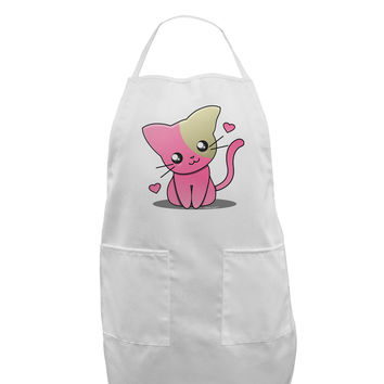 Kawaii Kitty Adult Apron