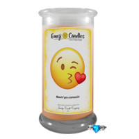 Blowin' You A Smooch! | Emoji Candle®