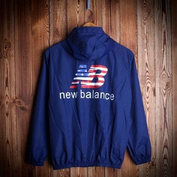 DCCK8NT so cool unisex new balance windbraeker coat rashguard jacket