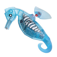 Activated Battery Powered Robot Hippocampus Toy Childen Kids Robotic Toys Baby Bathing Toy Christmas Gift
