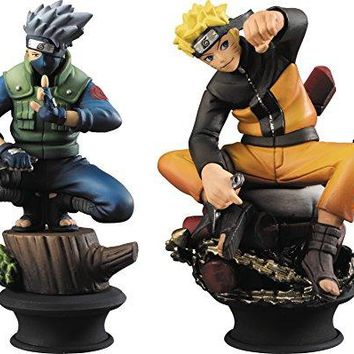 Megahouse Chess Piece Collection Naruto & Kakashi Set