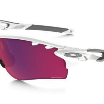 Oakley Radarlock (Asian Fit) Polished White Prizm Road Sunglasses OO9206-27