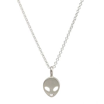 Believe In Yourself Necklace- Silver