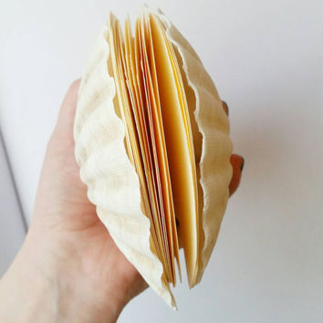 Scallop Shell Notebook