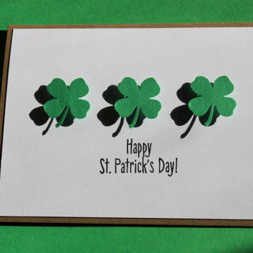 St. Patrick's Day Cards, Irish, Shamrock