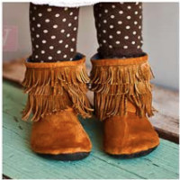 Gracious May Chestnut Moccasins