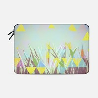 "Triangle cactus Macbook Pro Retina 15"" sleeve by Metron 