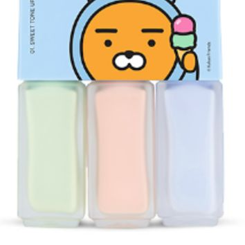 [THE FACE SHOP] Hoodie Ryan Mini Makeup Bar 01 Sweet Tone Up Bar (Kakao Friends)