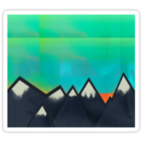 Mountain Top Sunset by Amelia Senville