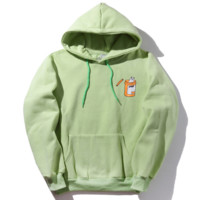 Ripndip Fashion Loose Hooded Top Sweater Hoodie